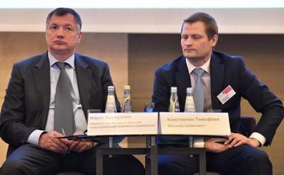 Марат Хуснуллин (слева) и Константин Тимофеев
