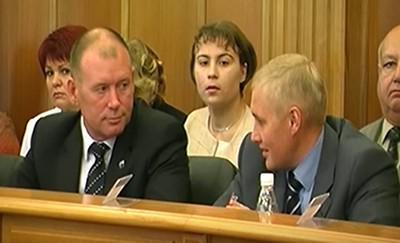 Александр Хабаров (слева) и Андрей Альшевских