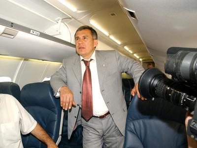 Бизнес-джет Рустама Минниханова за 3 млрд руб.