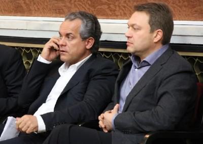 Владимир Плахотнюк (слева) и Сергей Яралов