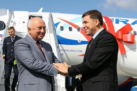Сергей Скуратов (слева) и Евгений Куйвашев