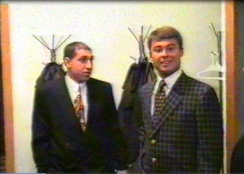 Сергей Исмайлов (слева) и Виталий Тельпяков (1995 г.)