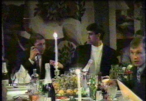 Слева направо: Сергей Исмайлов, Александр Быков и Сергей Зотин (1995 г.)