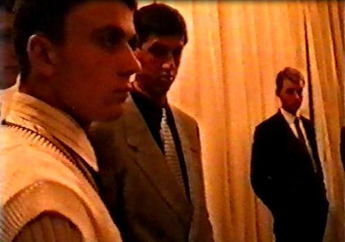 Слева направо: Анатолий Коледов, Александр Быков и Глеб Войтенко