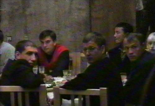 На первом плане слева направо: Сергей Исмайлов, Павел Струганов, Александр Живица
