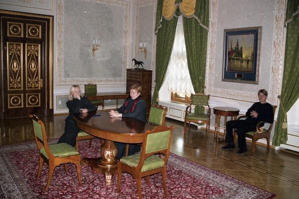 Слева направо: Катерина и Людмила Путины, Александр Пугачев
