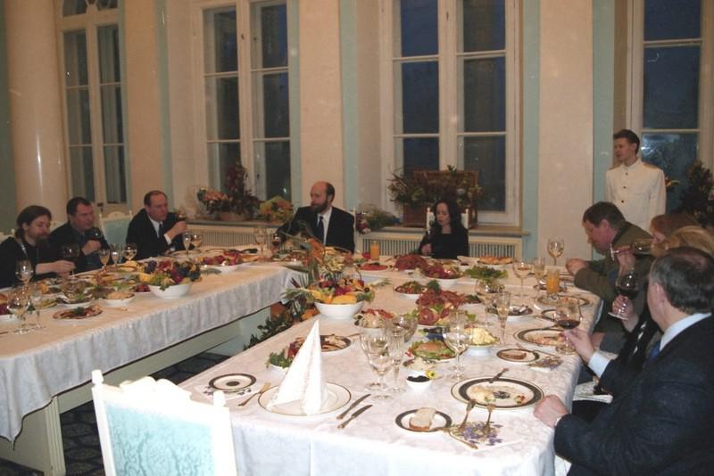 Слева направо: Тихон Шевкунов, Игорь Сечин, Николай Патрушев и Сергей Пугачев