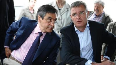 Франсуа Фийон (слева) и Марк Жуло