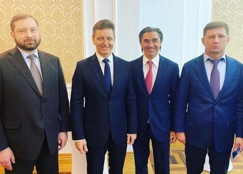 Слева направо: Алексей Островский, Владимир Сипягин, Андрей Свинцов и Сергей Фургал
