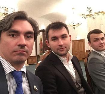 Слева направо: Андрей Свинцов, Михаил Дашкиев