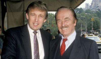 Дональд (слева) и Фред Трампы