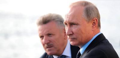 Вячеслав Шпорт и Владимир Путин