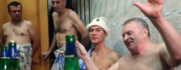Справа налево: Владимир Жириновский, Михаил Дегтярев