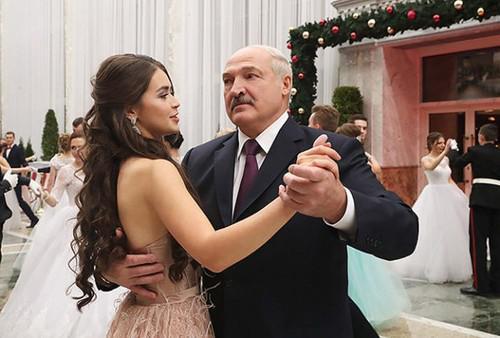 Мария Василевич и Александр Лукашенко