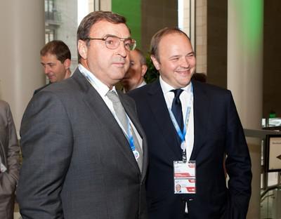 Андрей Гурьев (слева) с сыном Андреем
