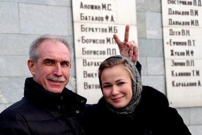 Сергей Морозов и Нина Долгова