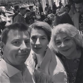 Слева направо: Денис, Мария и Нина Китаевы
