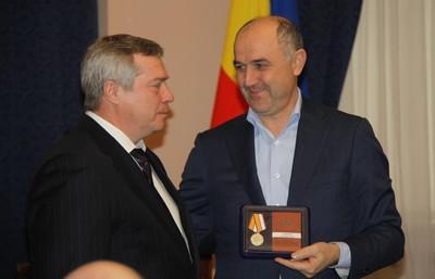 Василий Голубев (слева) и Али Узденов