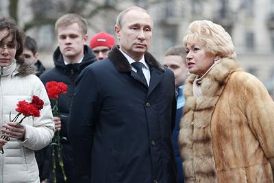 Владимир Путин и Людмила Нарусова