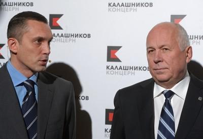 Алексей Криворучко (слева) и Сергей Чемезов