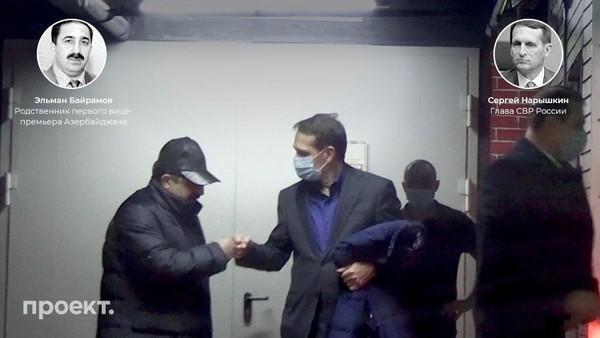 Эльман Байрамов и Сергей Нарышкин (справа)