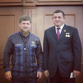 Рамзан Кадыров (слева) и Салман Закриев
