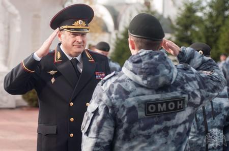 Гвардеец с Рублевки Михаил Воробьев.
