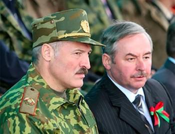 Александр Лукашенко (слева) и Виктор Шейман