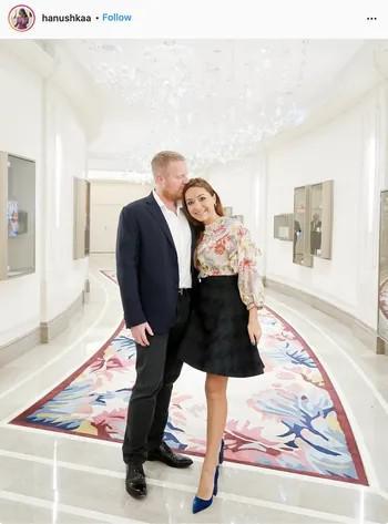 Сергей Тони с женой Ханушкой