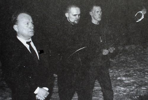 Семен Токмакова (в центре) и Александр Сухаревский (справа)
