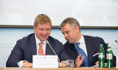Андрей Коболев (слева) и Юрий Витренко