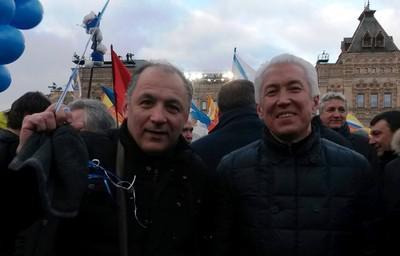 Нариман Гаджиев (слева) и Владимир Васильев