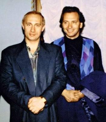 Владимир Путин и Владимир Киселев