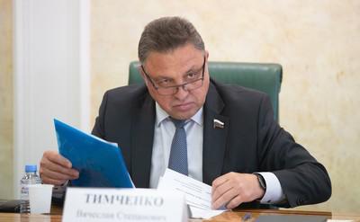 Вячеслав Тимченко декларировал не по регламенту.