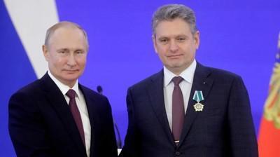 Владимир Путин и Николай Малинов