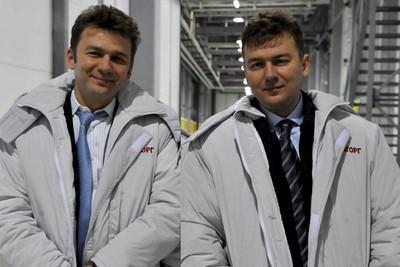 Виктор (слева) и Александр Линники
