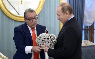 Геннадий Хазанов и Владимир Путин