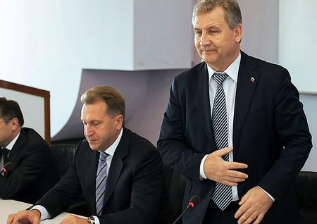Игорь Шувалов (слева) и Григорий Ивлиев
