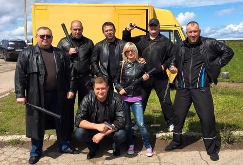 Александр Мосин (в центре в верхнем ряду)