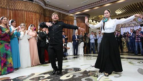 Троеженец Рамзан Кадыров.