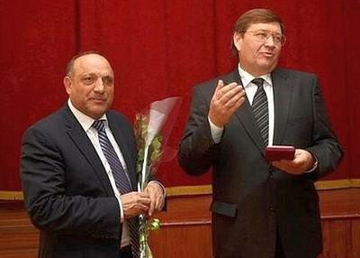 Карим Бабаев и Виталий Борзенко (справа)