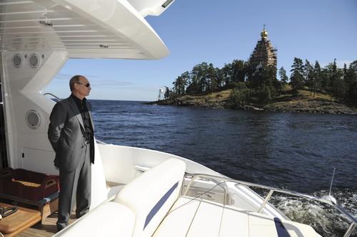 Дача Путина на Валдае.