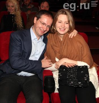 Владимир и Марина Мединские