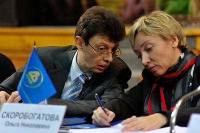 Дмитрий Скобелкин и Ольга Скоробогатова