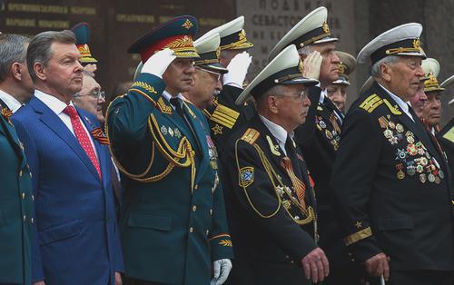 Олег Белавенцев и Сергей Шойгу