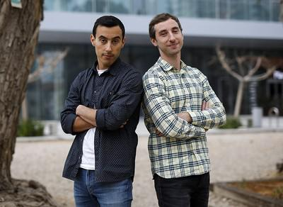 Игорь (слева) и Дмитрий Бухманы