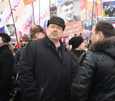 Геннадий Гудков (в центре)