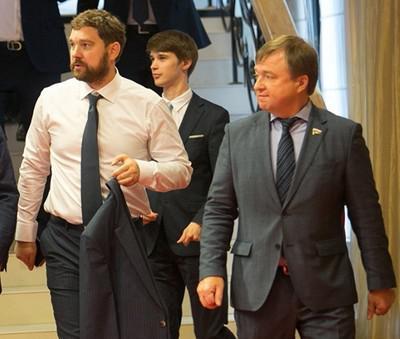 Игорь Баринов (слева) и Максим Иванов (справа)