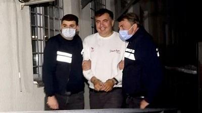 Михаил Саакашвили скрывался в сметане.